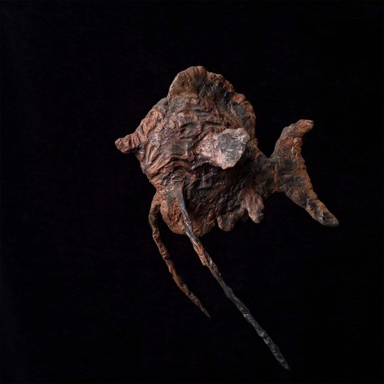 Jane-Steel-Eisenplastikerin-Schweiz-Skulptur-Fisch-Kuenstlerin-Kunst-2019